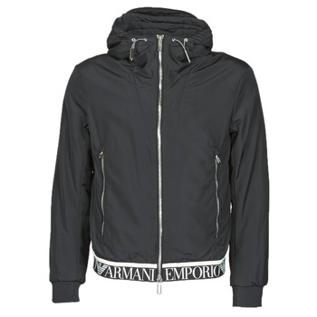 Clothing Men Jackets Emporio Armani 6H1BL6 Black
