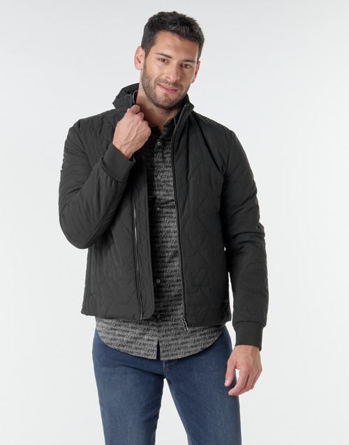 Clothing Men Jackets Emporio Armani 6H1BF4 Black