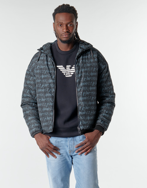 Clothing Men Jackets Emporio Armani 6H1BN6 Black