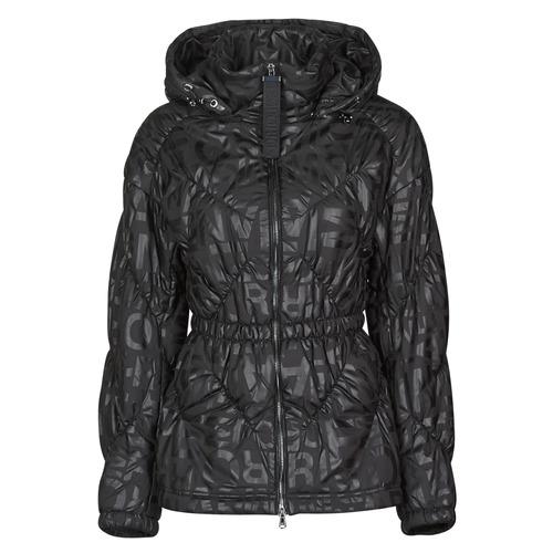 Clothing Women Duffel coats Emporio Armani 6H2B94 Black