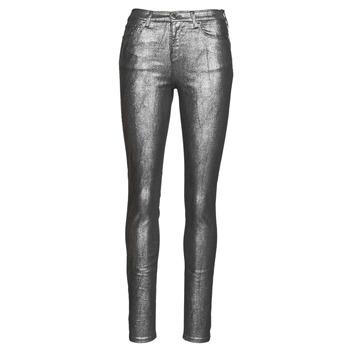 Clothing Women 5-pocket trousers Emporio Armani 6H2J20 Grey / Silver