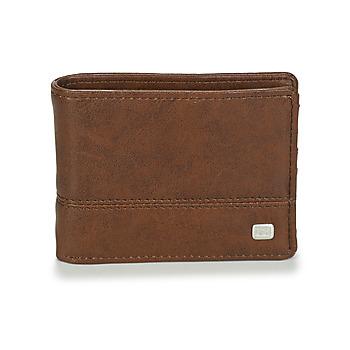 Bags Men Wallets Billabong DIMENSION Brown