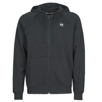 Clothing Men Sweaters Under Armour UA RIVAL FLEECE FZ Black