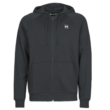 Clothing Men Sweaters Under Armour UA RIVAL FLEECE FZ Black