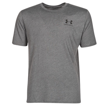 Clothing Men Short-sleeved t-shirts Under Armour SPORTSTYLE LEFT CHEST SS Grey