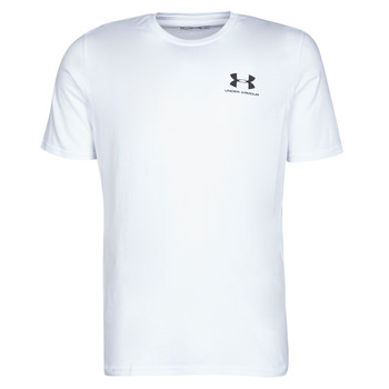Clothing Men Short-sleeved t-shirts Under Armour SPORTSTYLE LEFT CHEST SS White