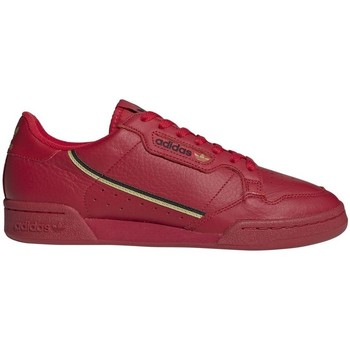 Shoes Men Low top trainers adidas Originals Continental 80 Red, Burgundy