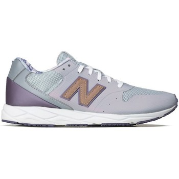 Shoes Women Low top trainers New Balance WRT96PCB White, Grey, Violet