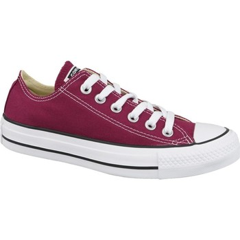 Shoes Women Low top trainers Converse Chuck Taylor All Star OX Burgundy