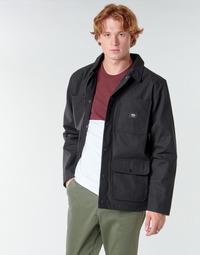 Clothing Men Jackets Vans DRILL CHORE COAT LINED Black