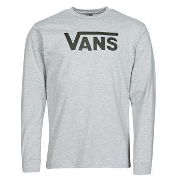 Clothing Men Long sleeved tee-shirts Vans VANS CLASSIC LS Grey