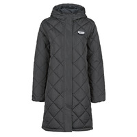 Clothing Women Duffel coats Vans CLAIR SHORES PUFFER JACKET MTE Black