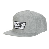 Clothes accessories Men Caps Vans FULL PATCH SNAPBACK Grey