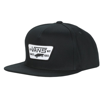 Clothes accessories Caps Vans FULL PATCH SNAPBACK Black