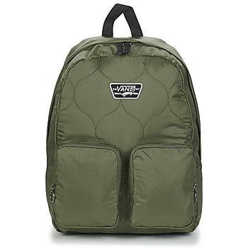 Bags Women Rucksacks Vans LONG HAUL BACKPACK Kaki