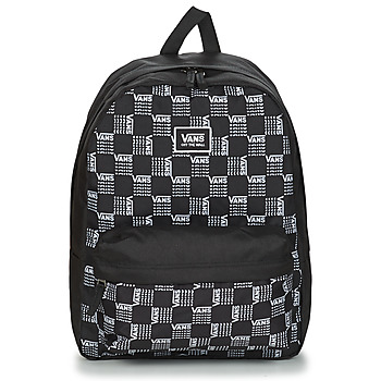 Bags Rucksacks Vans REALM CLASSIC BACKPACK Black / Grey