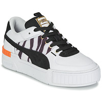 Shoes Women Low top trainers Puma CALI SPORT WILD White / Black