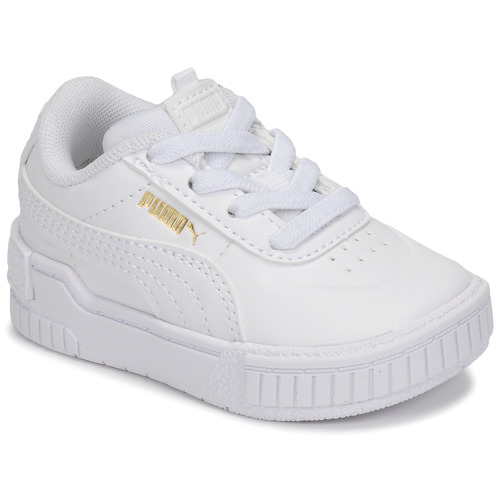 Shoes Girl Low top trainers Puma CALI SPORT INF White
