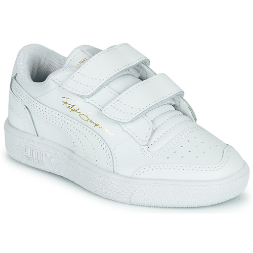 Shoes Children Low top trainers Puma RALPH SAMPSON LO PS White