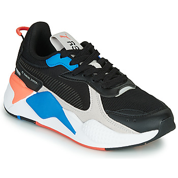Shoes Children Low top trainers Puma RS-X MONDAY JR Black / Blue / Red