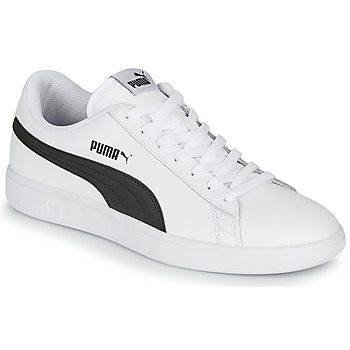 Shoes Men Low top trainers Puma SMASH White / Black