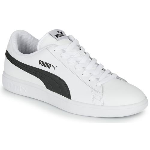 Shoes Men Low top trainers Puma SMASH White / Black