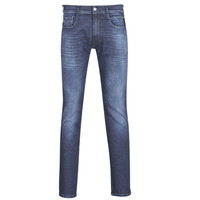 Clothing Men Slim jeans Replay ANBASS / HYPERFLEX Blue / Dark