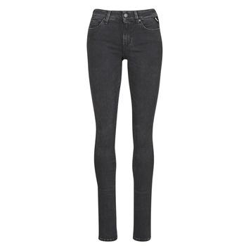 Clothing Women Slim jeans Replay LUZ / HYPERFLEX / RE-USED Black