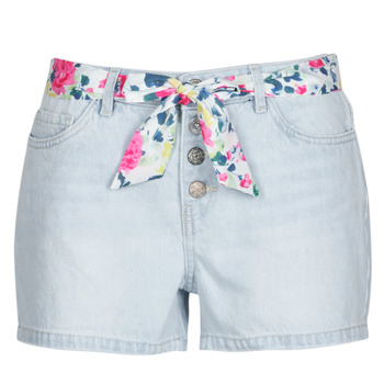 Clothing Women Shorts / Bermudas Only ONLQAMY Blue / Clear