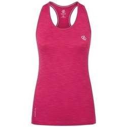 Clothing Women Tops / Sleeveless T-shirts Dare 2b Modernize II Vest Pink Pink