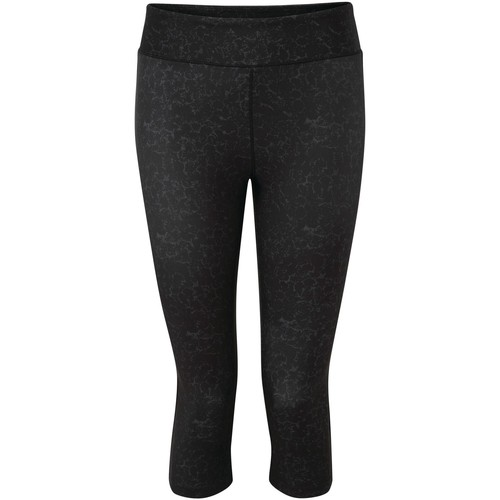 Clothing Women Trousers Dare 2b INFLUENTIAL Quick-Dry 3/4 Tights Black