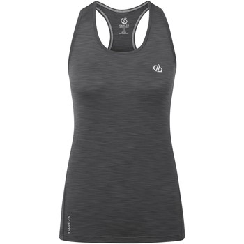 Clothing Women Tops / Sleeveless T-shirts Dare 2b MODERNIZE II Wicking Vest Grey