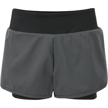 Clothing Women Shorts / Bermudas Dare 2b Outrun 2 Layer Shorts Grey Grey
