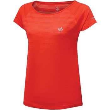 Clothing Women Short-sleeved t-shirts Dare 2b DEFY Quick-Dry TShirt Orange