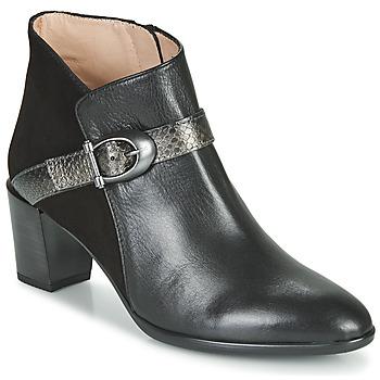 Shoes Women Ankle boots Hispanitas PIRINEO Black