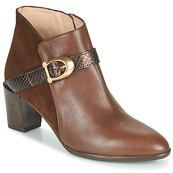 Shoes Women Ankle boots Hispanitas PIRINEO Brown