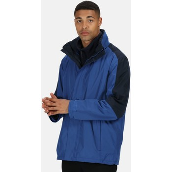 Clothing Men Parkas Professional DEFENDER III 3in1 Waterproof Jacket Blue