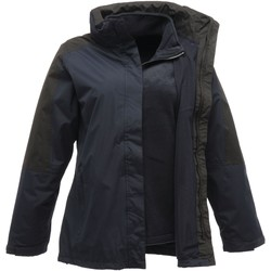 Clothing Women Coats Professional DEFENDER III 3in1 Waterproof Jacket Black Seal Grey Blue Blue