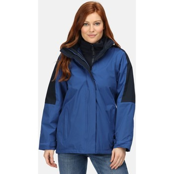 Clothing Women Parkas Professional DEFENDER III 3in1 Waterproof Jacket Black Seal Grey Blue Blue