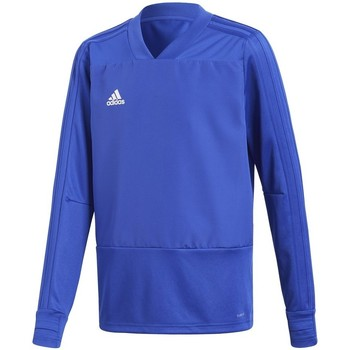 Clothing Boy Sweaters adidas Originals Condivo White, Blue