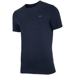 Clothing Men Short-sleeved t-shirts 4F TSM003 Black