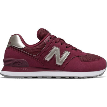 Shoes Men Low top trainers New Balance WL574WNL Red