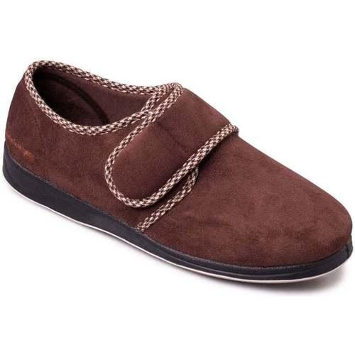 Shoes Women Slippers Padders Harry Mens Full Slippers brown
