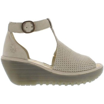 Shoes Women Sandals Fly London Yall Womens High Heeled Sandals BEIGE