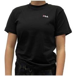 Clothing Women Short-sleeved t-shirts Fila Eara Tee Black