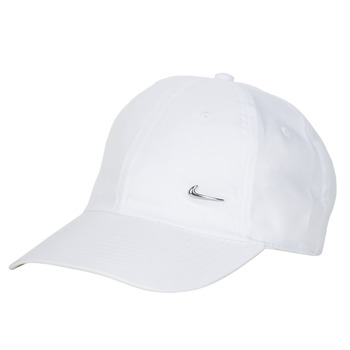 Clothes accessories Caps Nike U NSW H86 METAL SWOOSH CAP White / Silver