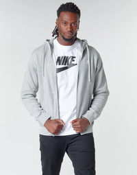 Clothing Men Sweaters Nike M NSW CLUB HOODIE FZ BB Grey