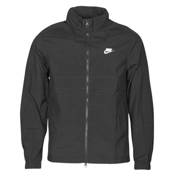 Clothing Men Track tops Nike M NSW CE TRK JKT WVN Black / White