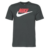 Clothing Men Short-sleeved t-shirts Nike M NSW TEE BRAND MARK Black