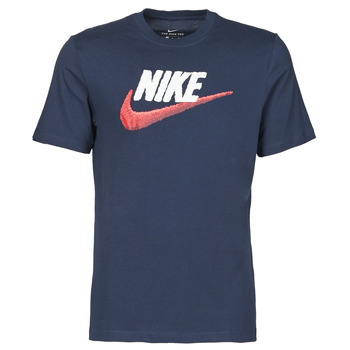 Clothing Men Short-sleeved t-shirts Nike M NSW TEE BRAND MARK Blue